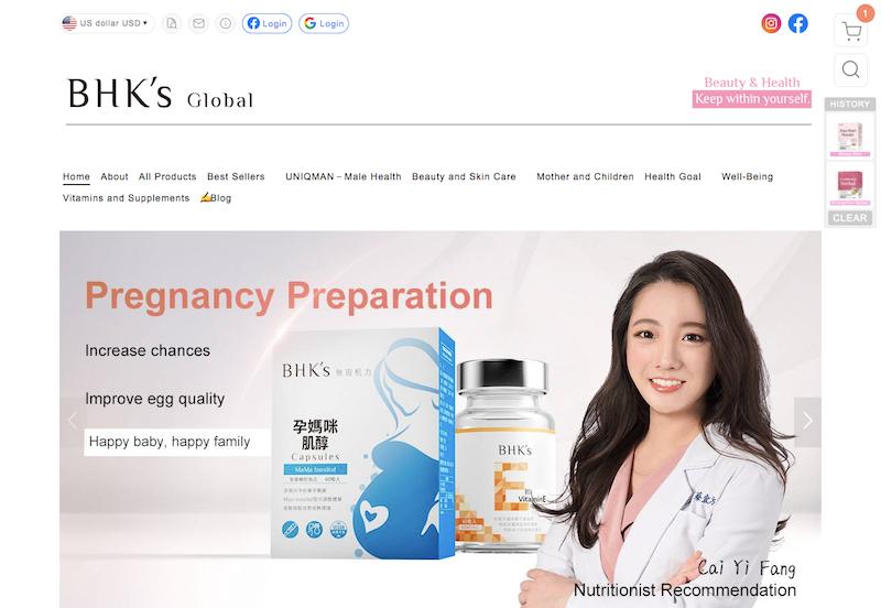 BHKs國際官網